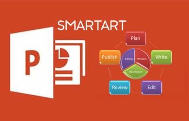 Sử dụng SmartArt
