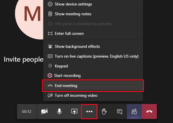 tính năng mới trong Microsoft Teams
